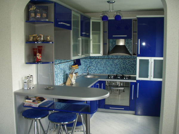 Кухни на заказ в эмали